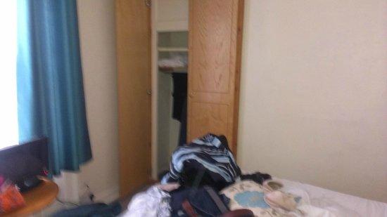 The Hand Hotel: small wardrobe