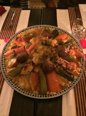 La Villa Kacy: couscous gastronomique
