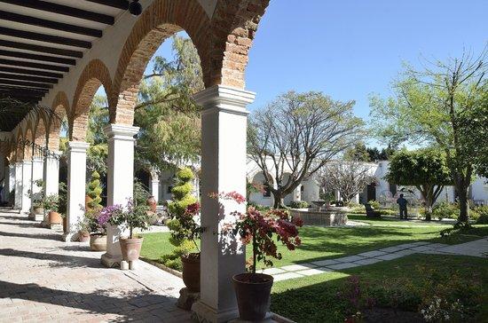 Hacienda San Cristóbal: Jardín