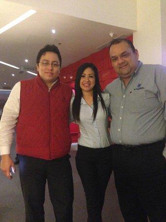 Ramada Encore Guadalajara: Fin de capacitacion Kick Off Hola-Metrocarrier