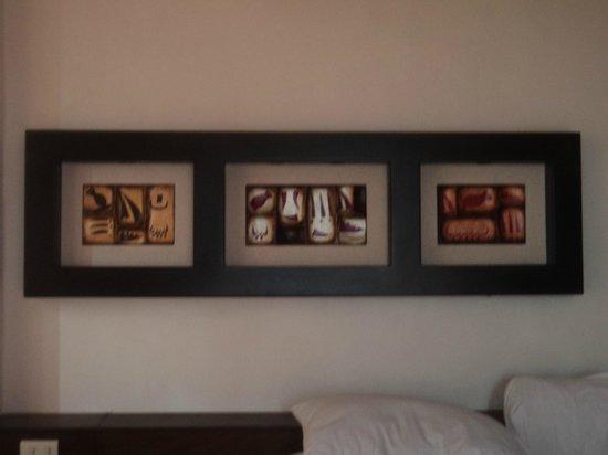 Ko'ox El Hotelito Beach Hotel: el decorado es bonito