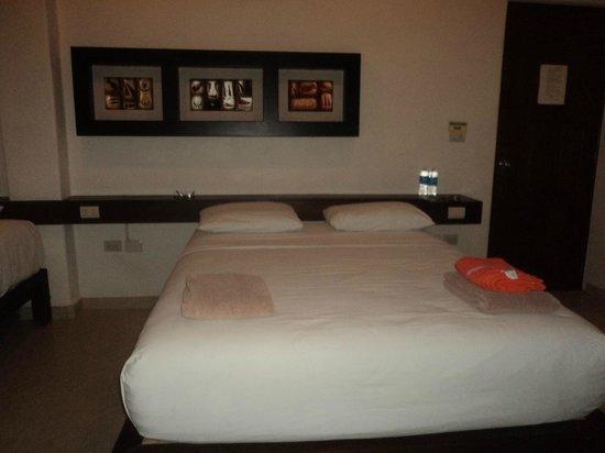 Ko'ox El Hotelito Beach Hotel: hermosa la habitacion