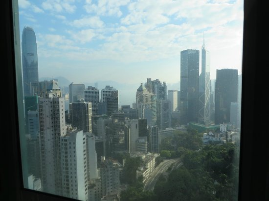 Bishop Lei International House: view from our room