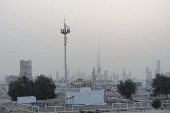Arabian Park Hotel : вид с балкона,если чуток отвернуться от кладбища