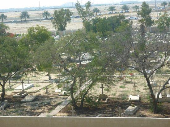 Arabian Park Hotel: вид с балкона
