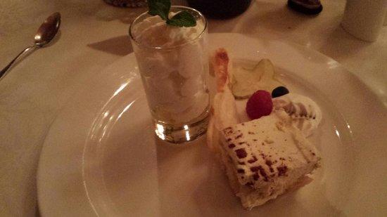Hotel Edelweiss & Gurgl: Dessert