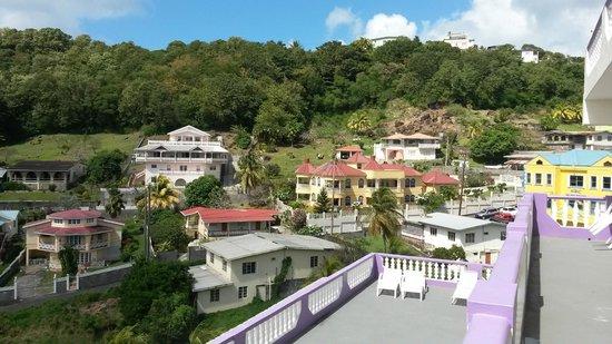 Bay-Hill Apartments: Vista desde la Habitación