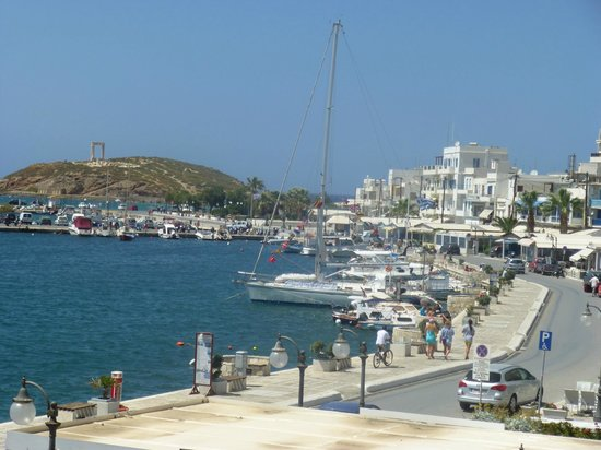 Naxos Town, Greece: Naxos City bay