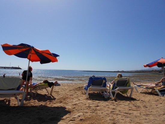 Hotel Costa Caleta : beach very wind but nice