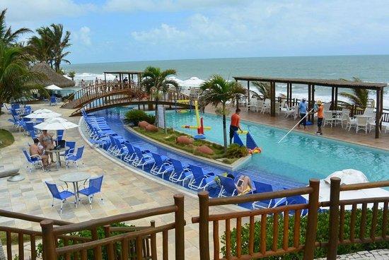 Ocean Palace Beach Resort Bungalows Pool Mit Liegen