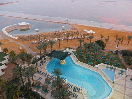Leonardo Club Dead Sea Hotel : Pool and the sea