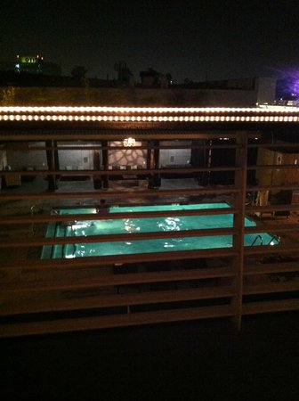 Custom Hotel: View from dining deck