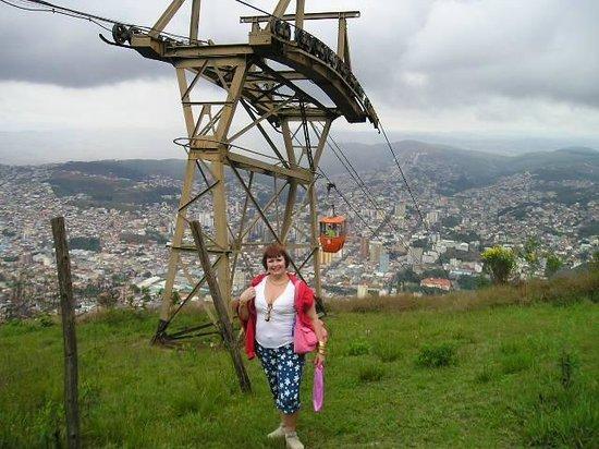 Cable Car to Sao Domingos ridge : Muito verde e vista linda!