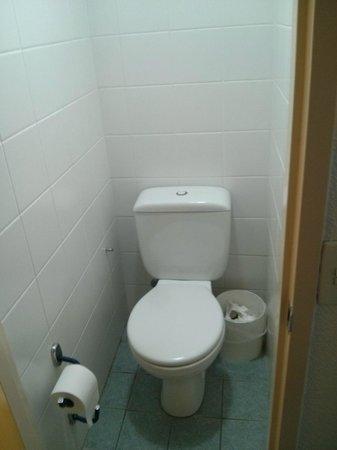 Ibis Budget Sao Paulo Morumbi: Visão ao entrar no banheiro