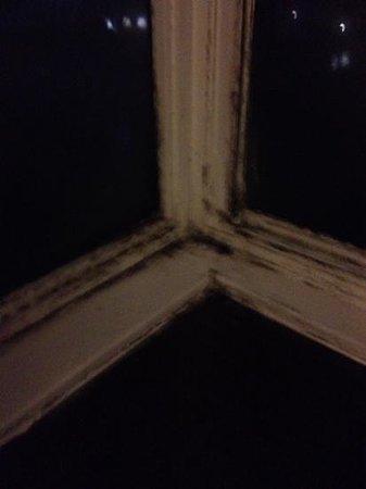 Britannia Ashley Hotel : bedroom window