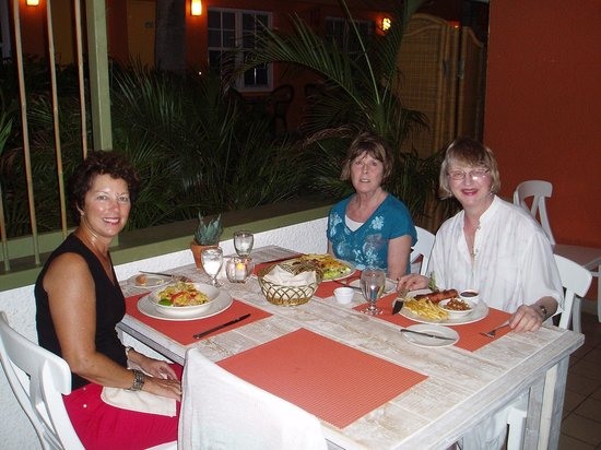 Tulip : Delicious supper in Aruba!!