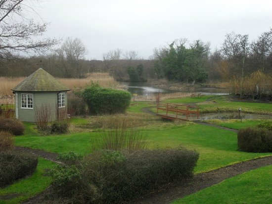 Thorpeness Golf Club & Hotel: Garden by the river