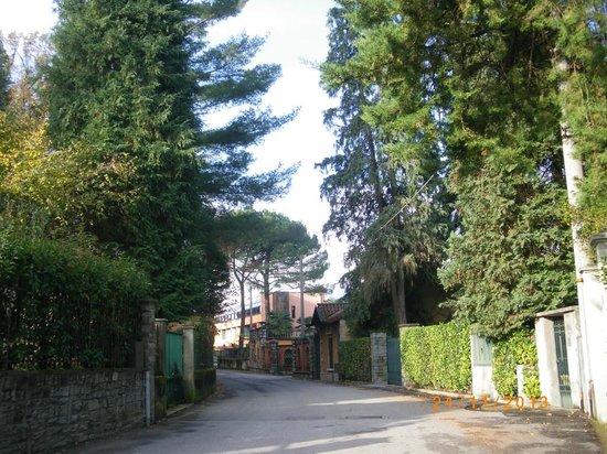 Hotel Conca Azzurra : Улица, на которой расположен отель