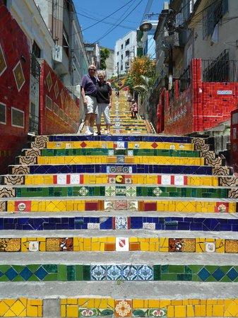 Rio Tours Operator: Seleron's steps