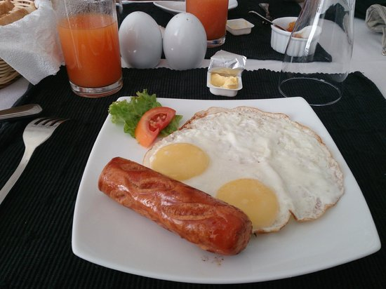Port View City Hotel: breakfast