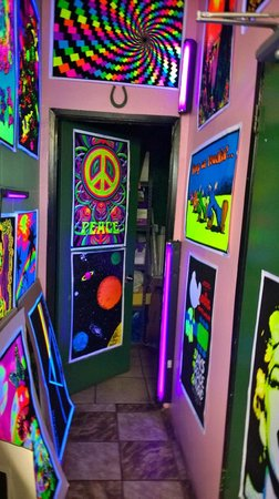 Big Kid Collectable Toy Mall and Retro Store: Turn On The Blacklight