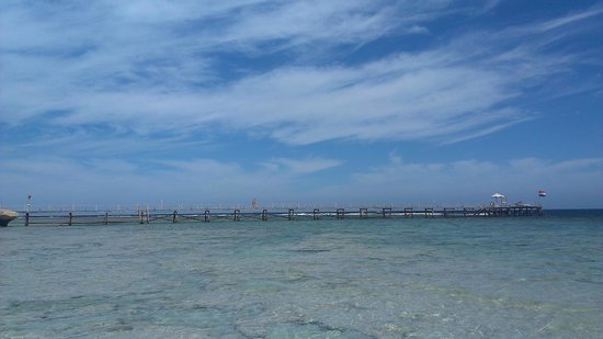 Concorde Moreen Beach Resort & Spa Marsa Alam : Пирс