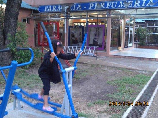 Hotel Del Pasaje: muy poquito pero se ve algo de la recreacion