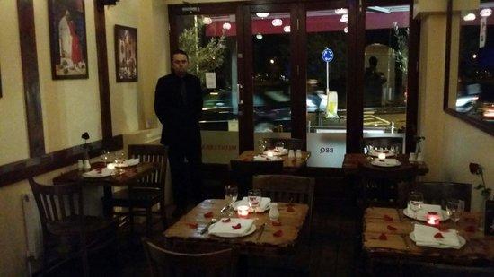 Valentines Day Picture Of Lara Restaurant London Tripadvisor