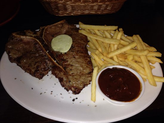 Yummie Chicken : Nice big T-bone from yummie