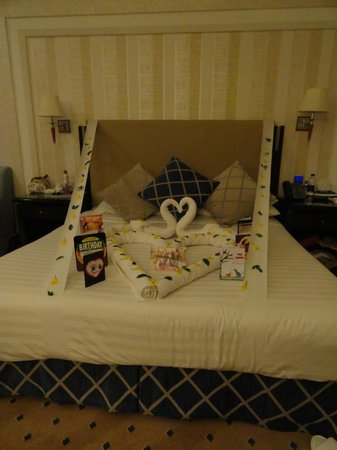 Premier Le Reve Hotel & Spa (Adults Only): Birthday Surprise