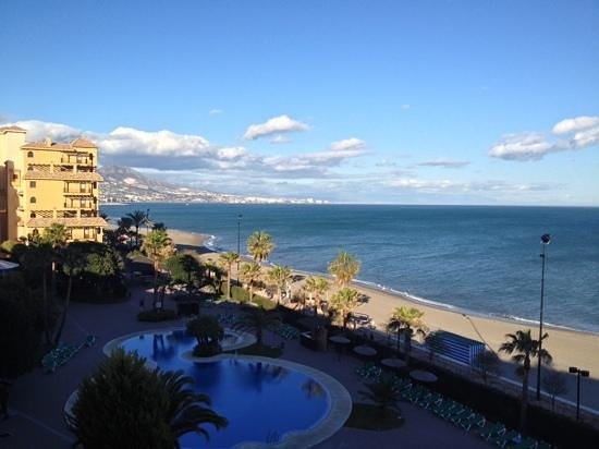 Hotel IPV Palace & Spa: View from our balcony.  Feb 2014