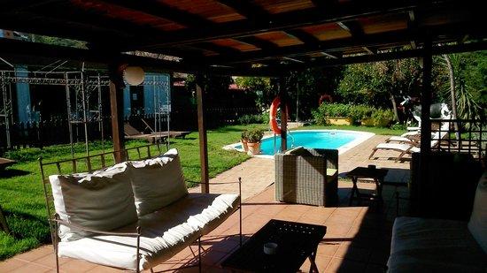Hotel Rural Las Calas: Porche exterior