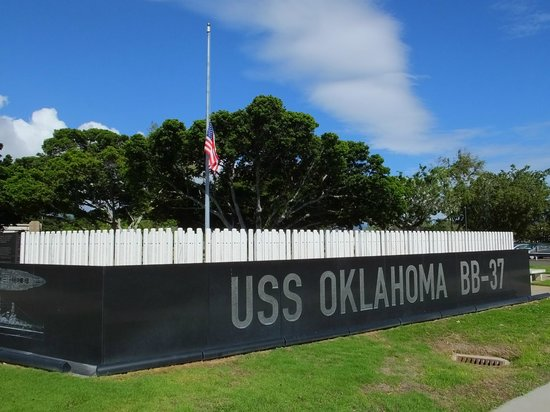 USS Oklahoma Memorial : Respect..!