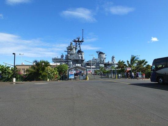 USS Oklahoma Memorial : The Mighty Mo...!