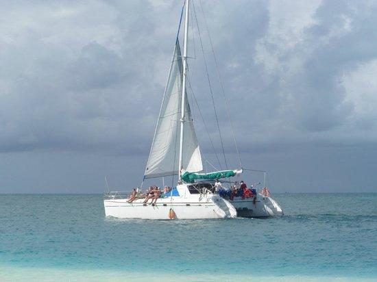 Gran Caribe Club Coral: in mare