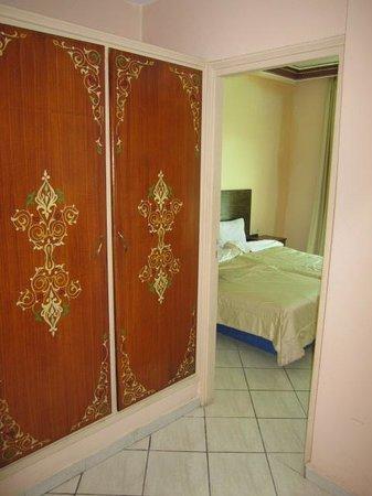 Hotel Bab Aourir : Blick ins Schlafzimmer