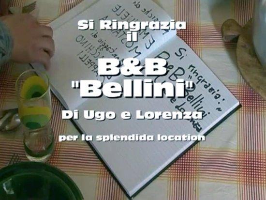 """B&B Bellini : Ringraziamenti finali cortometraggio """"Gildo e Rinaldo"""""""
