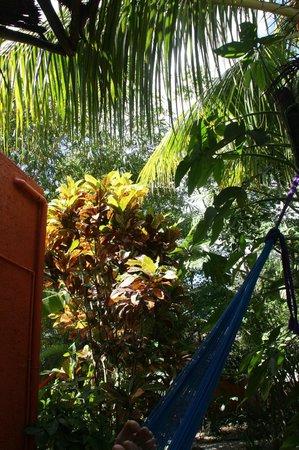 Don Diego de la Selva: Hamac sur la terrasse de la chambre