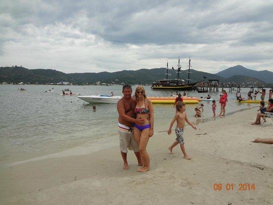 Camboriu Praia Hotel: Isla de Porto Belo. Espectacular