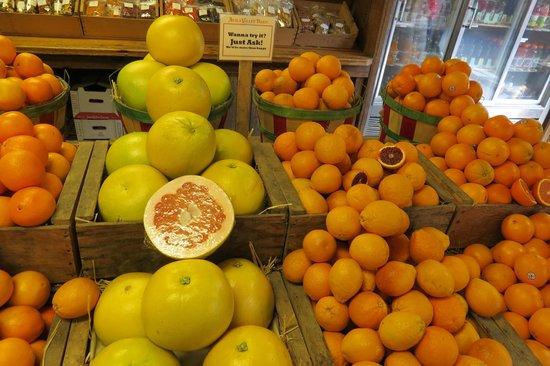 Hilton Garden Inn Pismo Beach: Frutas maravilhosas