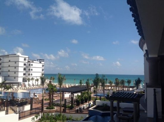 Grand Residences Riviera Cancun : View from our deck