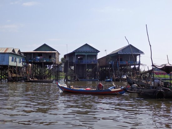 Siem Reap Urban Adventures: Part of the community of Ton Le Sap.