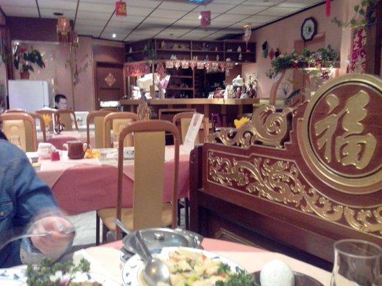 restaurant la cuisine de Taiwan: Entrée et 1ère salle