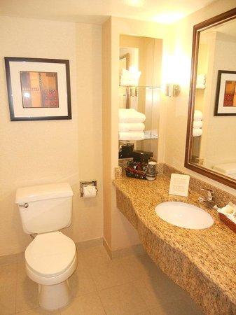Holiday Inn Express San Diego N - Rancho Bernardo: Holiday Inn Express San Diego Rancho Bernardo Hotel Guest Bathroom