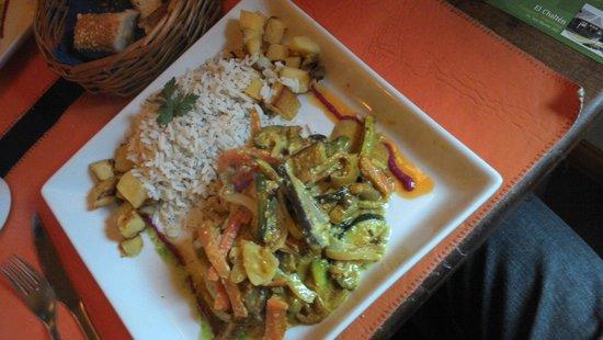 Fuegia bistro: Menu vegetariano