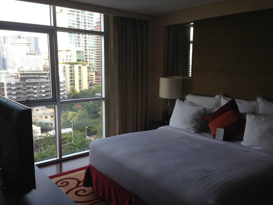 Sathorn Vista, Bangkok - Marriott Executive Apartments : Bedroom