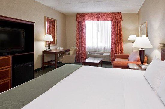 Holiday Inn Express & Suites Columbus Airport: King Bed with Sofa Bed Guest Room