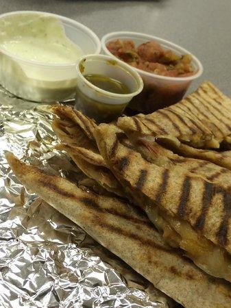 Two Rivers Burrito Co.: Quesadillas