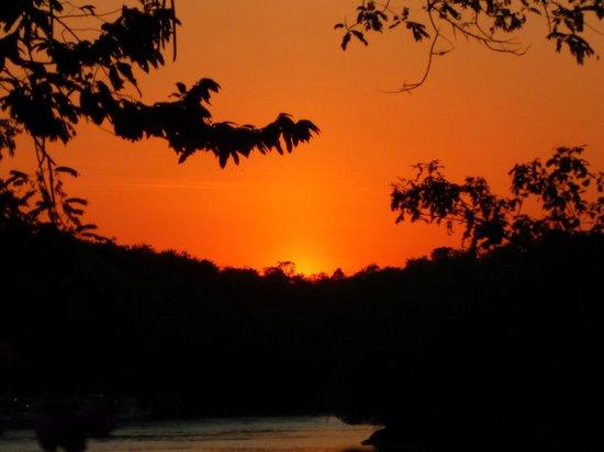 Hotel Bocas del Mar : sunset