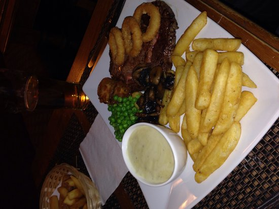The Royal Oak: One of our meals